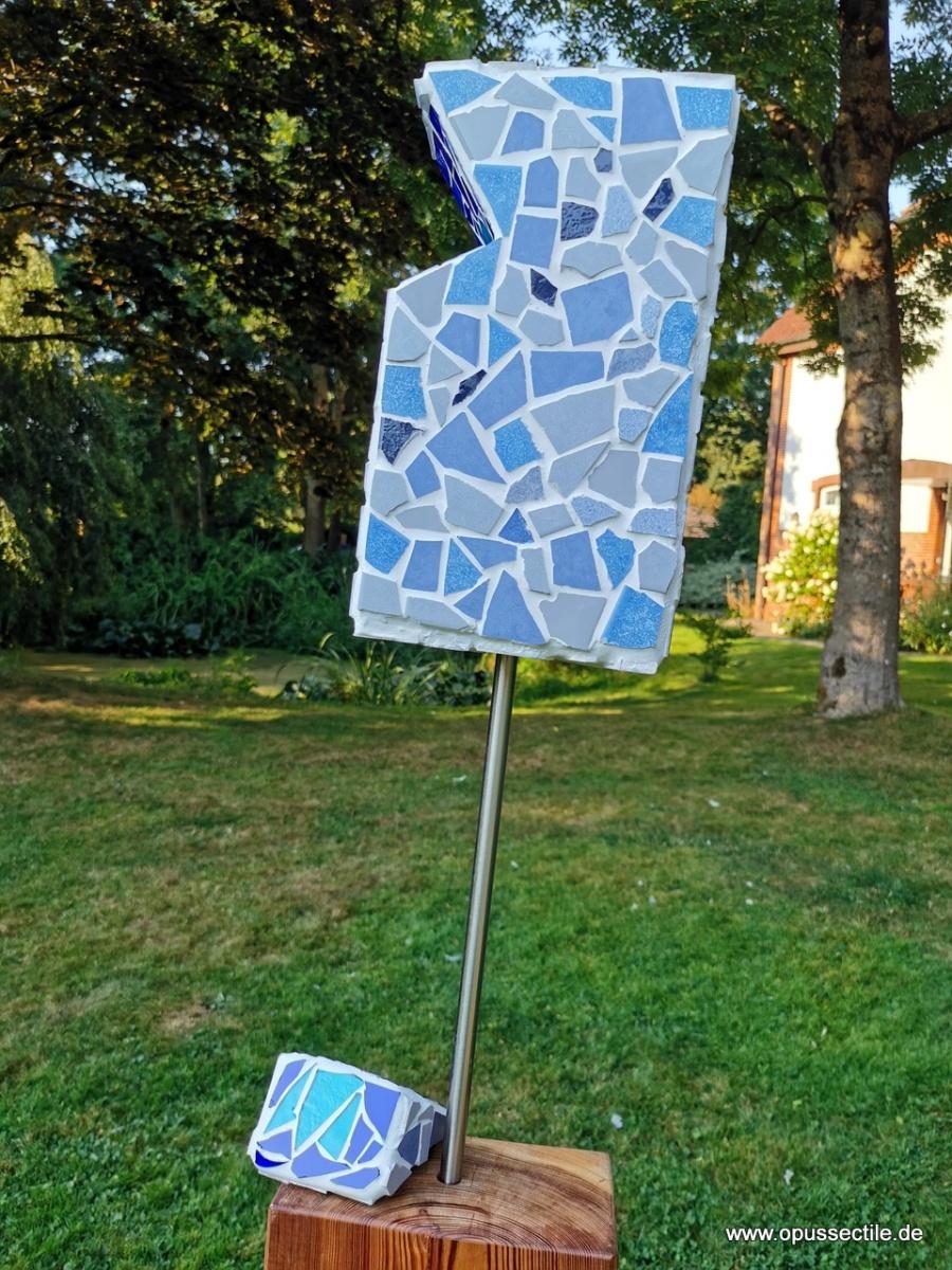 Gartenobjekt auf Steele